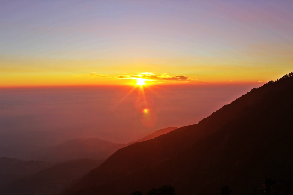 Sunset at Triund