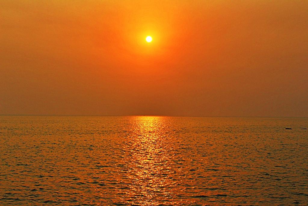 Sunset at Marine Drive