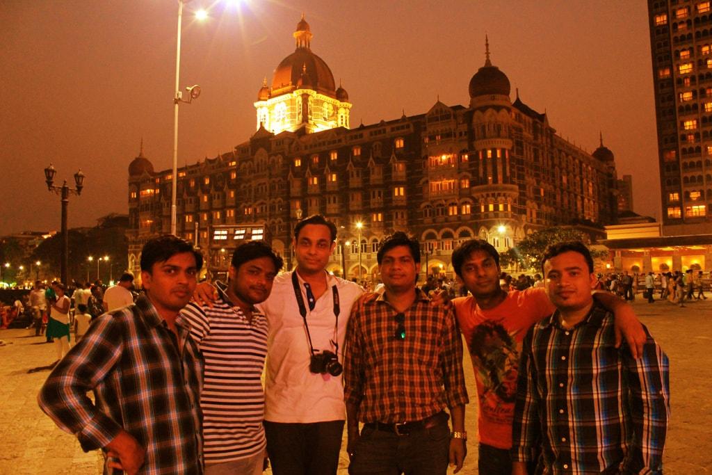 All of us at Taj Hotel