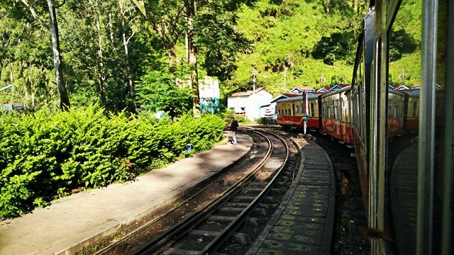 Toy Train at Barog Station