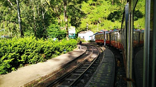 Toy Train at Barog Station