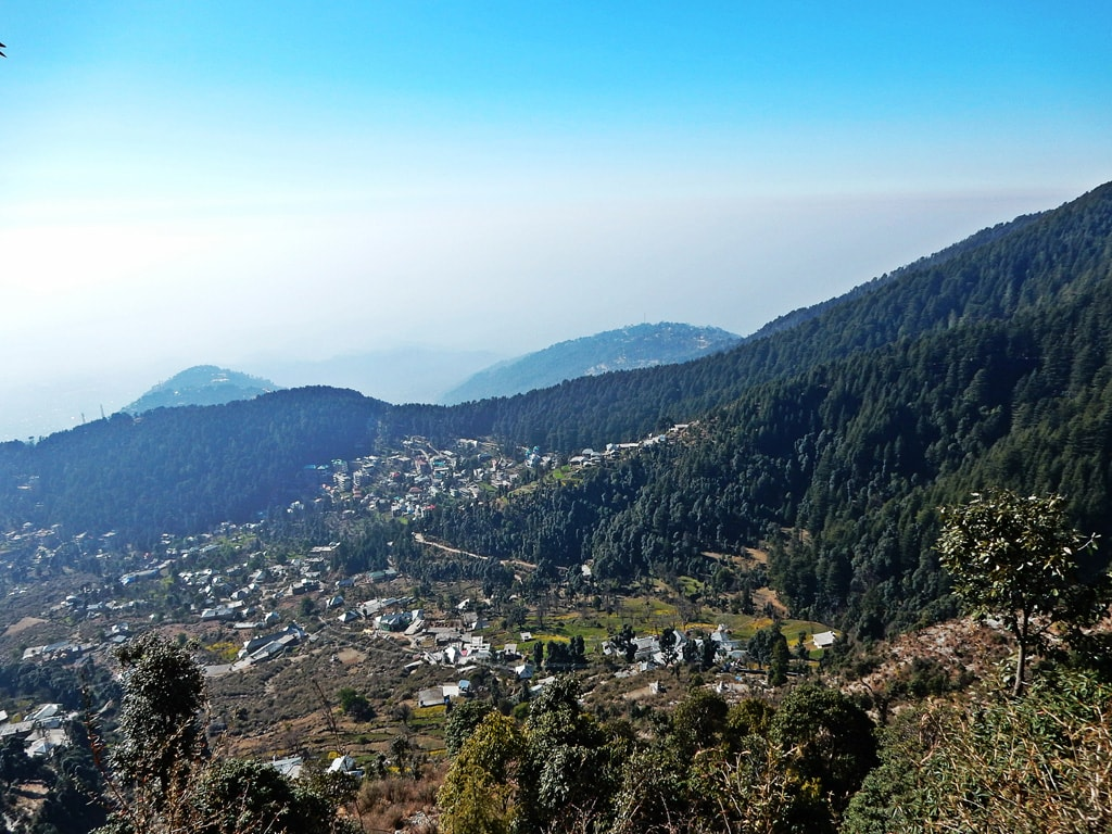 view from Triund trek