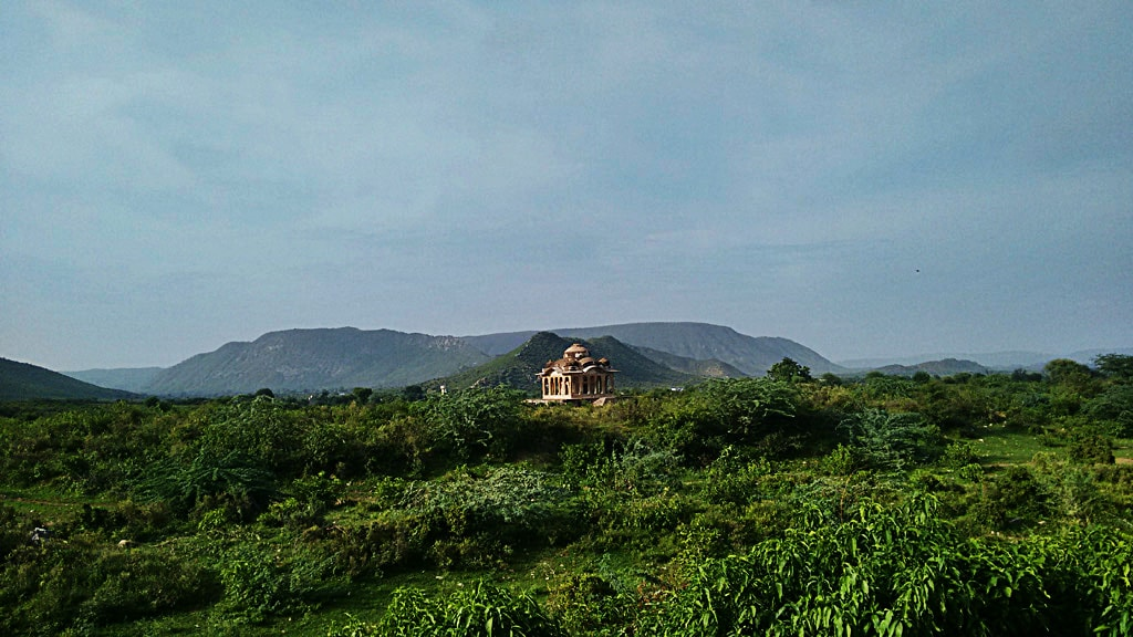 View of Aravali hills