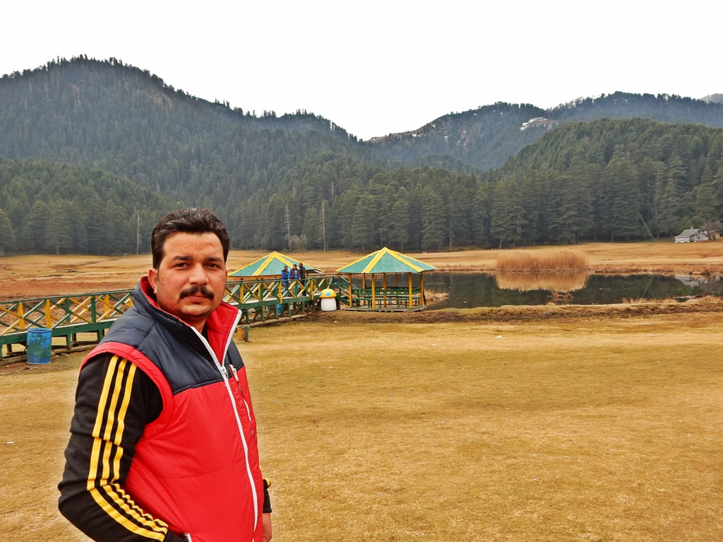 Vijay at Khajjiar