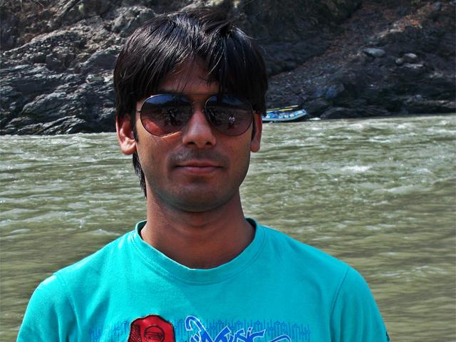 Vivek in Rishikesh