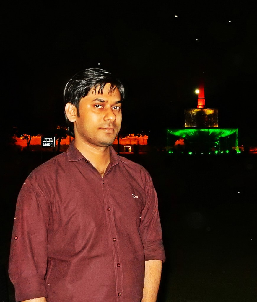 Vivek at Rajpath