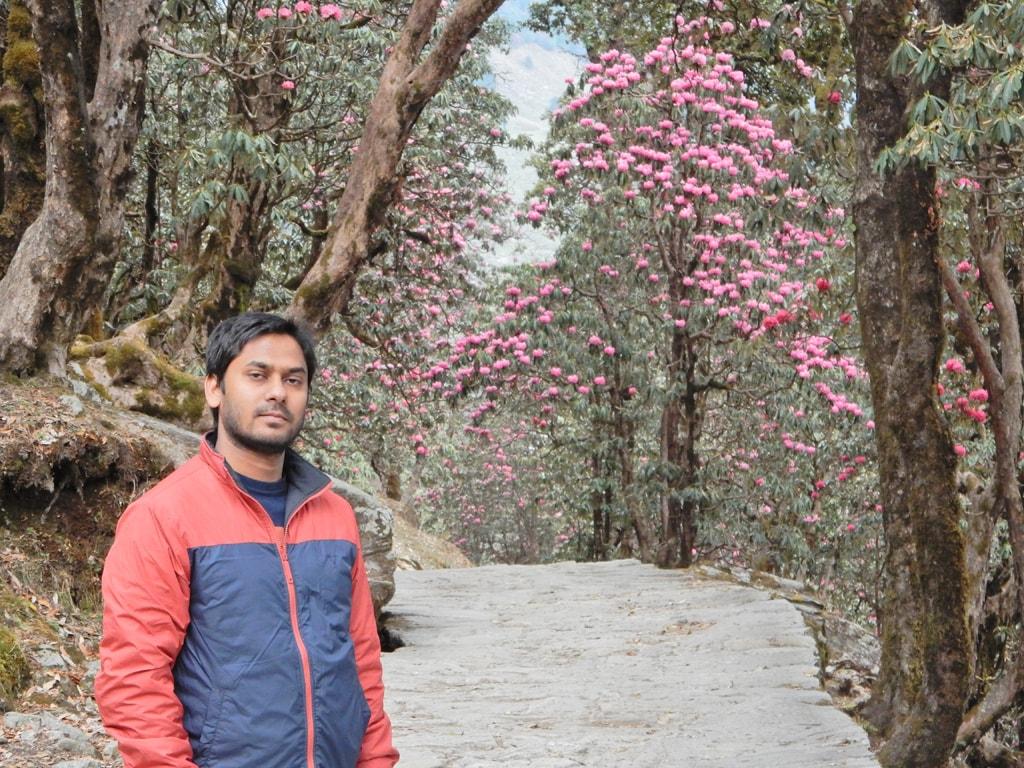 Myself in Chopta Valley