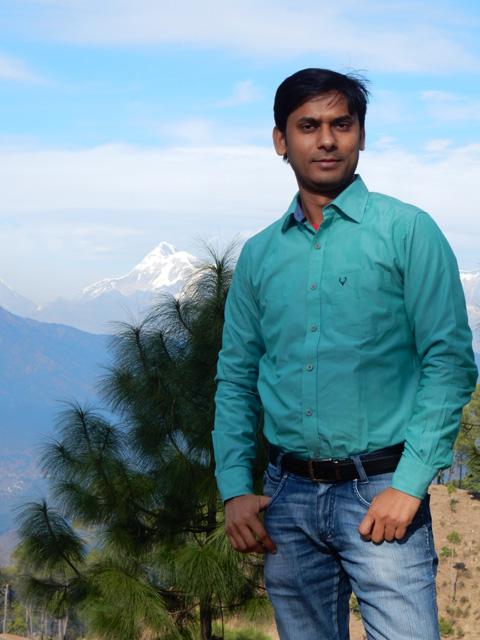 Vivek in Ranikhet