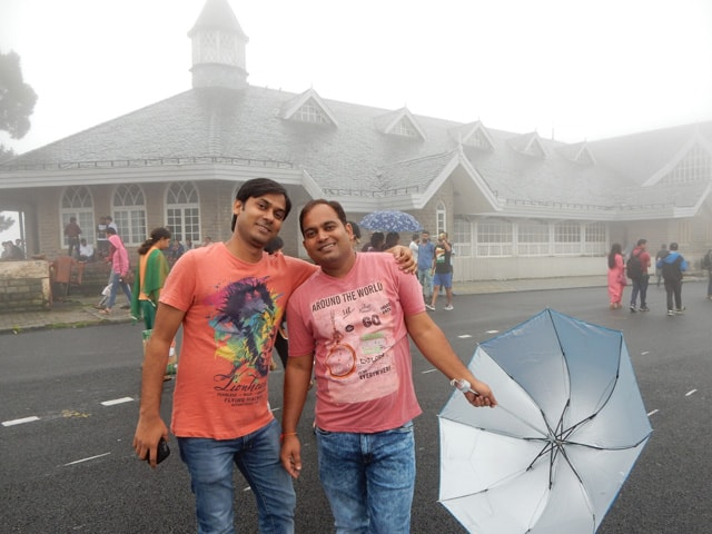 me with Rohit at The Ridge, Simla