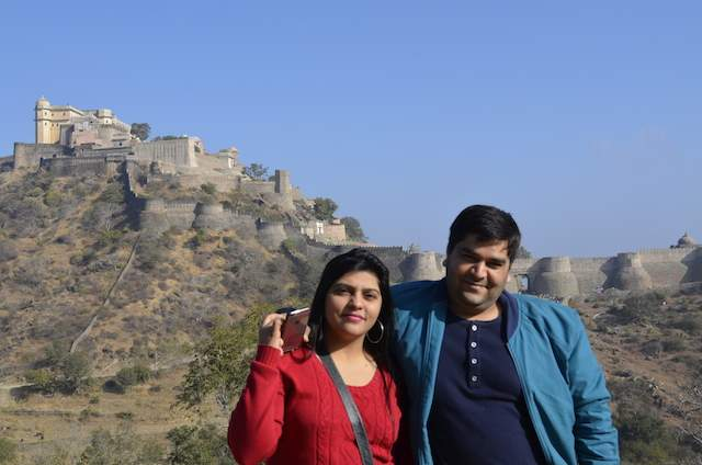 Wall of Kumbhalgarh