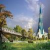 Upcoming major hindu temple in India