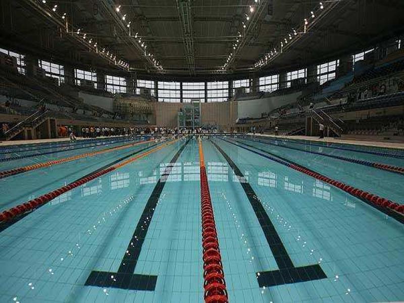 Dr. S P Mukherjee Swimming Pool