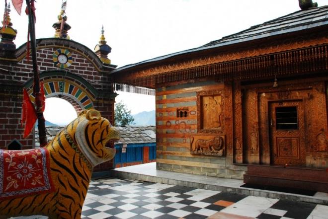 Jagannathi Devi Temple (Bekhli Temple)