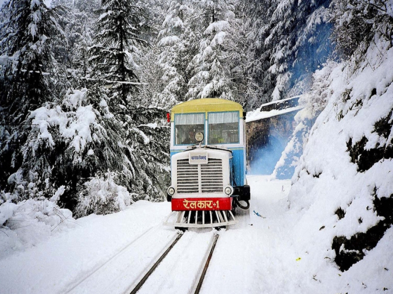 Kalka-Shimla Toy Train Ride