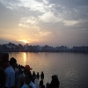 On the second day of Chhat devotees pay tribute to the rising Sun