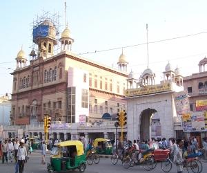 Gurudwara Sis Ganj Delhi