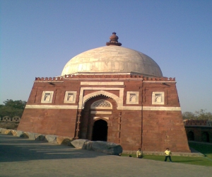 Mausoleum of Ghiyasuddin Tughlaq Delhi