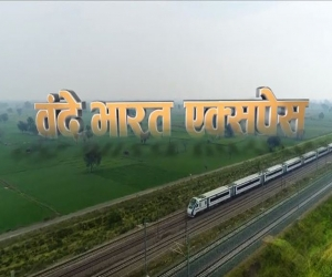 Vande Bharat Express From Delhi To Katra Flagged Off